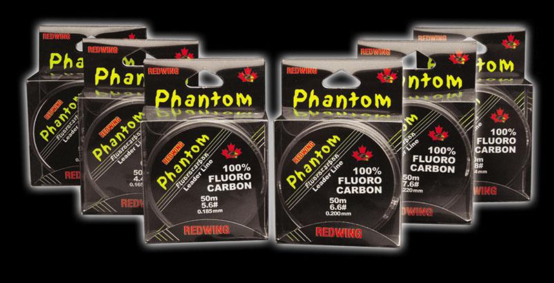 Redwing Phantom Fluorocarbon Leader Line 4.4# 50m